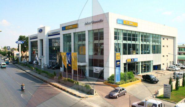 Izmir Karsiyaka Arkas Ford & Opel Showroom And Service Building